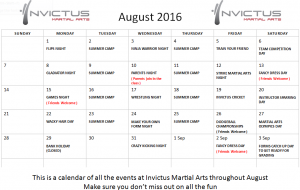 August Fun @ Invictus